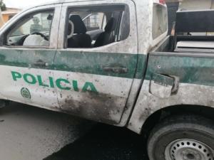 Los policías realizaban labores de vigilancia y control en zona aledaña al aeropuerto los colonizadores cuando fueron atacados
