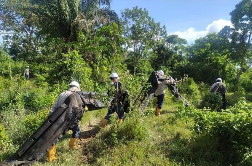Atentado en contra del oleoducto causa derrame de crudo en zona rural de Arauquita.